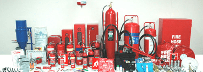 Fire Extinguisher & Safety Equipment